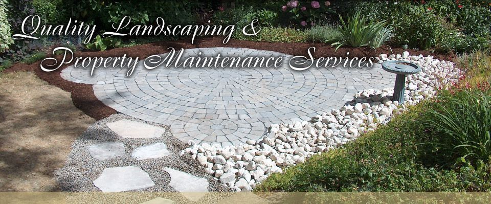 Quality Landscaping & Property Maintenance Services | stone decoration